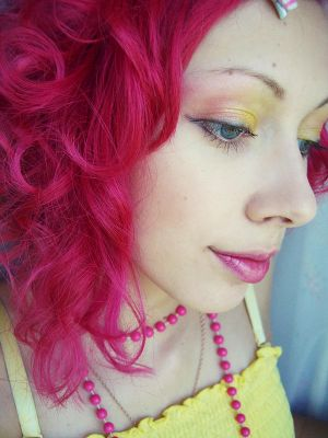 CandyQueen by crazydonut - Renkli Sa�lar
