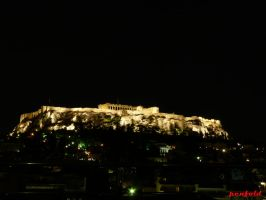 Acropolis Night by penfold73
