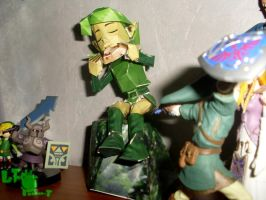 My Saria papercraft 4 by LeTourbillonEnchanT