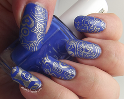 Simple Starry Stamping by Ithfifi