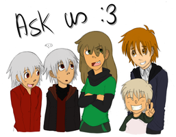 Ask my SoMa kids + Roby! by KeysaMoguri