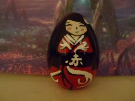 Red Kokeshi by HikaruHrist