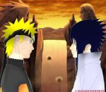 Naruto/Sasuke - Valley Of The End by godassassin0068