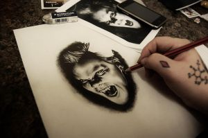 lost boys David WIP 2 by Nevermore-Ink