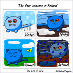 4 Seasons in Finland by BabyVegeta