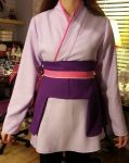 Cosplay WIP Lacus Clyne Commander by TheSnowDrifter