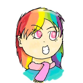Human Rainbow Dash by PrincessDonut