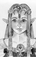 Twilight Princess Zelda by KawaiixRingo