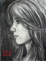 Pamela Courson Speed Sketch by beckpage