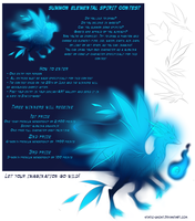 Elemental spirit contest (contest is closed) by Static-ghost
