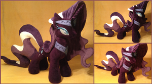 Nightmare Rarity Plush by Potionpony