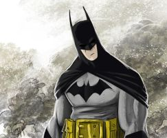Batman by deralbi