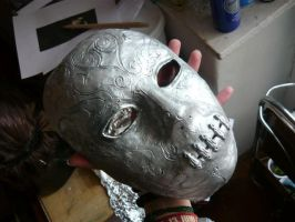 Bellatrix cosplay part 2 - the Death Eater mask by snowyblackrose