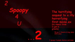 2Spoopy4u TWO - Movi e Poster by Clockwork-Jack