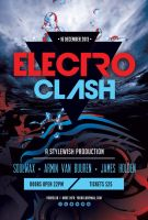 Electro Clash Flyer by styleWish