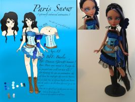 Paris come to life by MyGothicValentine