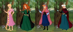 Disney's 3D Princesses by dcfan0590