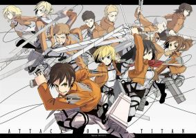 Attack on Titan : 104th by A-lphard