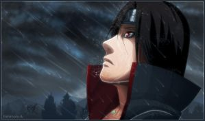 Uchiha Itachi - Naruto Panel by MastaHicks