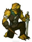 RPG Art: Errich the Dragonborn by grantgoboom