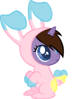 Filly Emily Fathom says: Happy Easter! by InvaderZimFreakGirl1