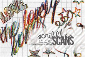 scribbles scans by francesdotcom