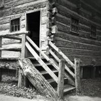 Carding and Wool House at New Salem by rdungan1918