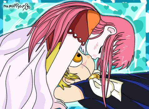 Zatch x Tia by mariyami5