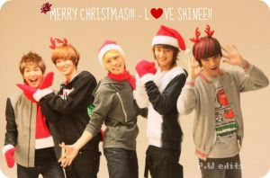 Merry Christmas....From SHINee by KateW49