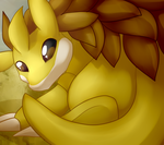 5 - Sandslash by SkittyStrawberries
