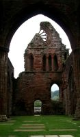Sweetheart Abbey 9 by GothicBohemianStock