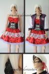 Operetta Doll Monster High Cosplay Costume by oruntia