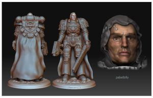 warhammer space marine 3d 3 by PabelBilly