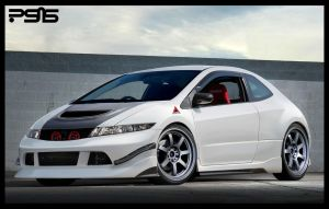 Clean civic by psas