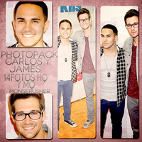 Photopack #13 de James Maslow y Carlos Pena by monserusher