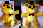 Golden Freddy Plush - Handmade by NiGHTmaren-Cosplay