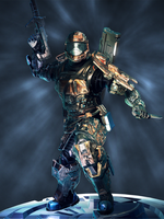 ODST Character Model: Front by SS-Crow
