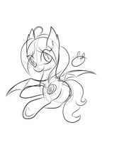 Unnamed Bat Pony by MrRowboat