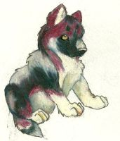 Chaka Puppy by fenrirhound
