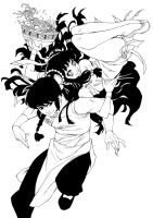 Fanart Ranma  - Ink by xiannustudio