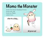 Momo the Monster by kernn