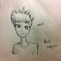 Request- Bart Simpson by Nutella-Cookie
