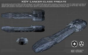 Lancer Class Frigate ortho [New] by unusualsuspex