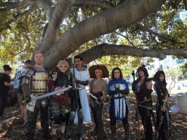 Dragon age group cosplay comic con 2015 by Lilithblack
