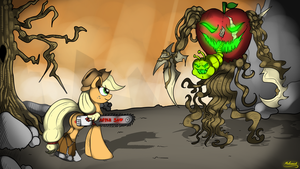 Applemonster by malamol