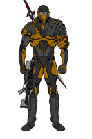 Alcon armored by Alconos