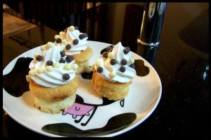 Coconut Cupcakes by chunkymonk3y