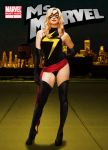 Strzechowski as Ms. Marvel by jpbbantigue
