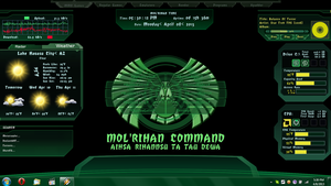 Romulan Desktop by KittieShaufer