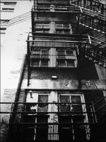 Fire Escape Downtown KC by AForAdultery